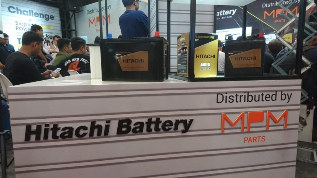 MPMParts dan Hitachi umumkan kerja sama untuk distribusi di Indonesia. Medcom.id/Ekawan Raharja