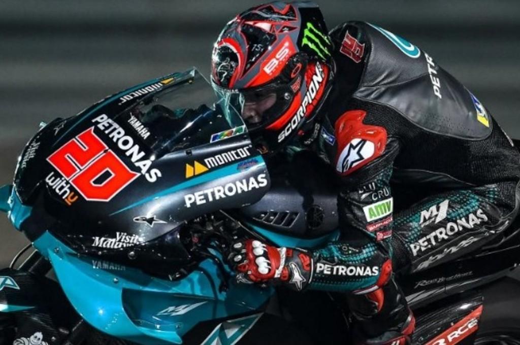 Fabio Quartararo siap tampil di balapan virtual MotoGP. dorna sports