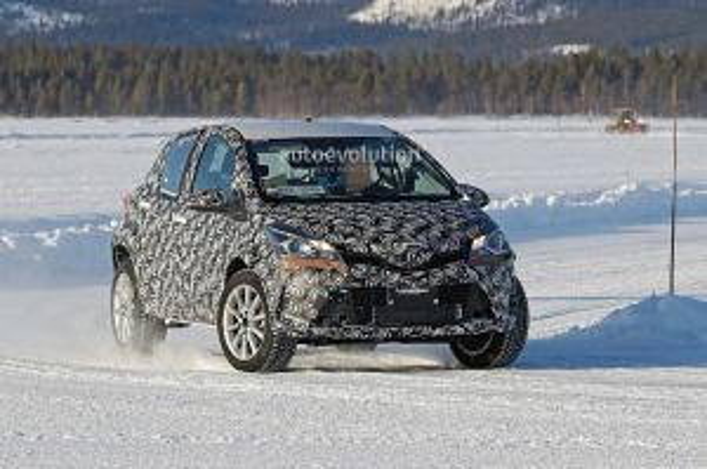 Yaris Dipaksa jadi SUV, Toyota Ketahuan Sedang Uji Coba