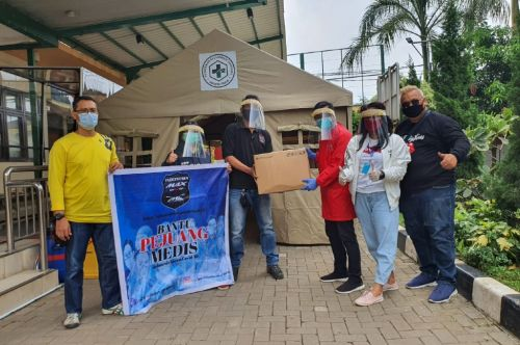 Indonesia Maxi Owners (IMO) sumbang APD untuk Rumah Sakit. dok imo