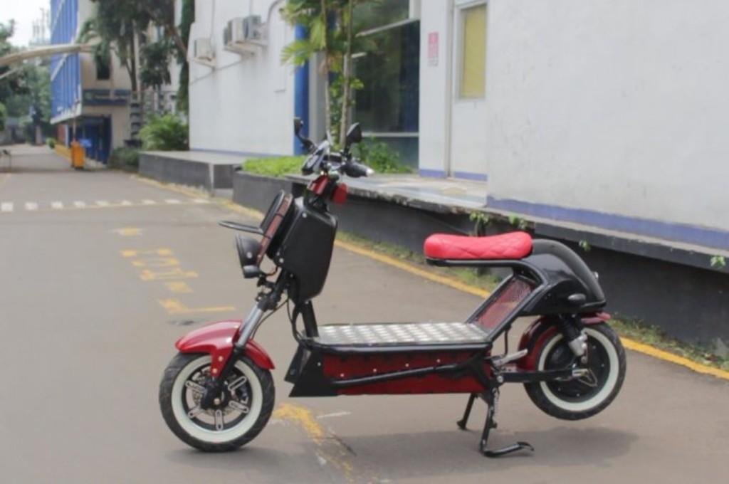 Mahasiswa UBL Sulap Sepeda Selis jadi Motor Listrik Kargo