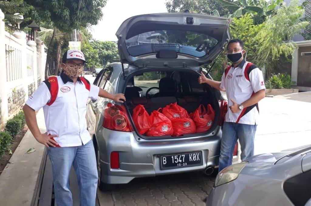 TYCI Salurkan Sembako untuk Warga Terdampak Covid-19