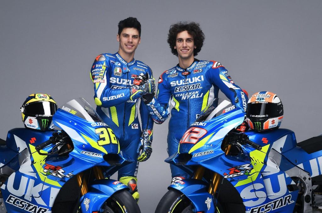 Duet rider Suzuki Joan Mir dan Alex Rins perpanjang kontrak hingga 2022. suzuki