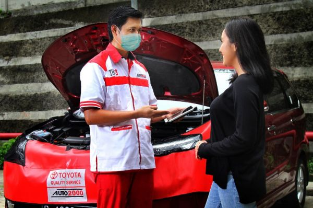 Auto2000 tawarkan layanan home service untuk memanjakan konsumen Toyota. auto2000