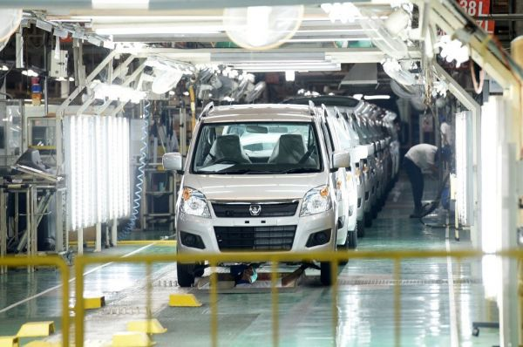 Menyesuaikan perpanjangan masa PSBB, Suzuki Indonesia perpanjang periode libur pabrik. dok medcom