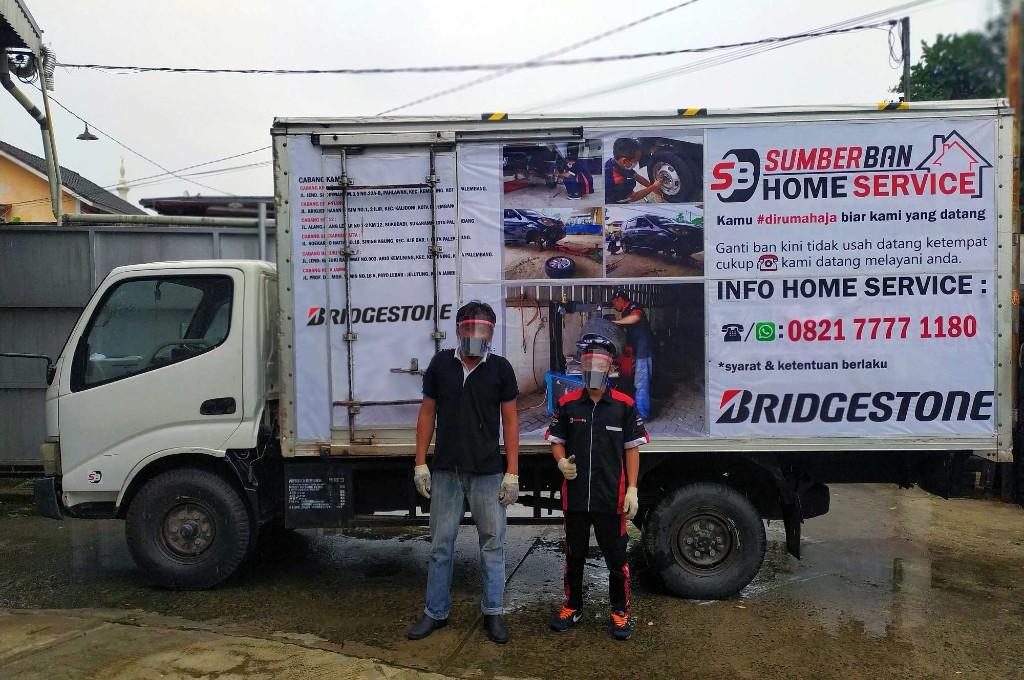 Home Service Bridgestone Kini Tersedia di Palembang