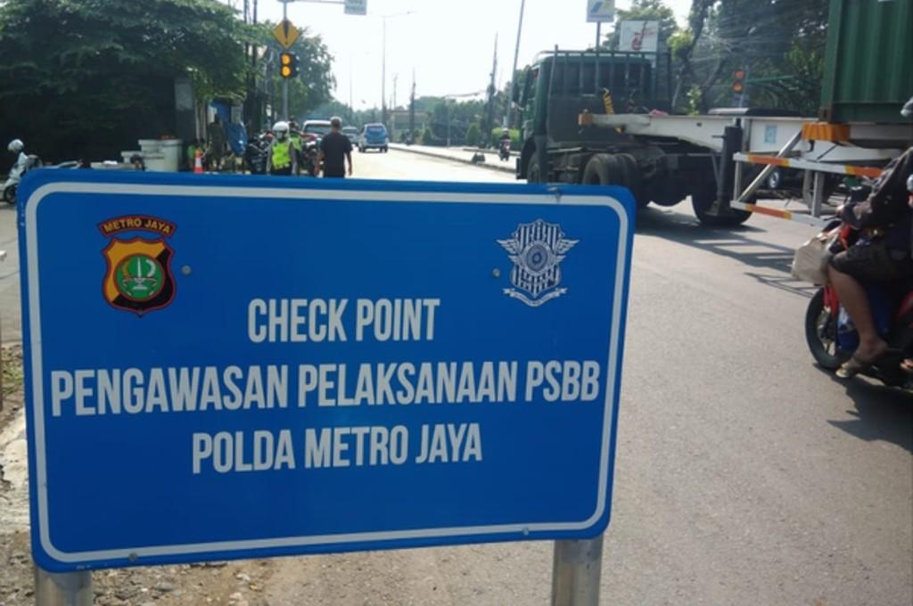 Pemerintah Provinsi DKI Jakarta semakin memperketat akses keluar masuk wilayah ibukota. dok mi