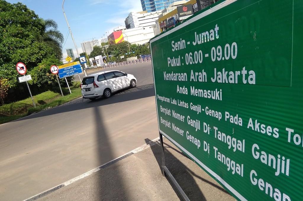 Peraturan ganjil genap di DKI Jakarta ditiadakan menyesuaikan masa PSBB. dok medcom