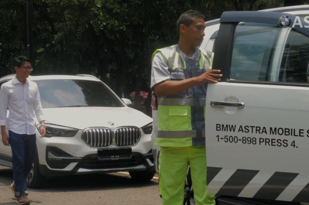 BMW Astra tawarkan layanan Home Service sebelum konsumen kembali beraktifitas bersama kendaraannya. bmw astra
