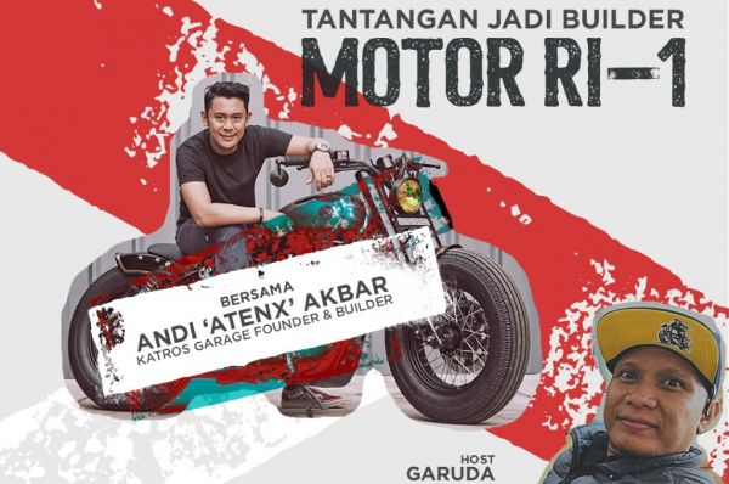 Ngobras Medcom Bareng Atenx Katros, Sang Builder Motor Jokowi