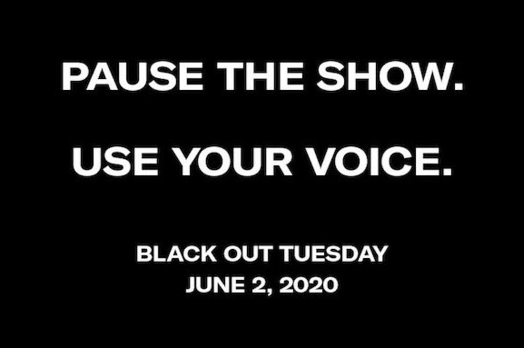 Postingan dengan tagar Blackout Tuesday menghantui jagad maya.