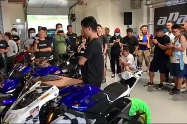 ECU aRacer Moge 4 Cylinder Yamaha R6 aRacer demonstrasikan fitur Auto Warm Up. ig/ultraspeedracing
