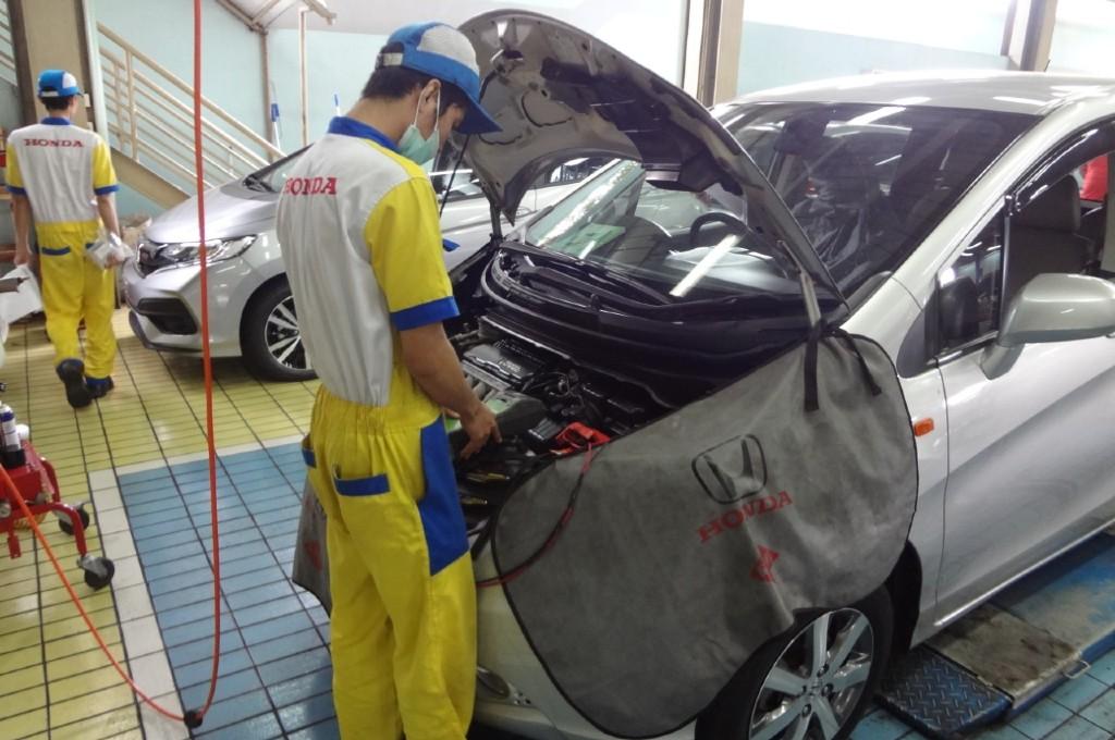 Ribuan Dokter Ikut Program Servis Gratis Honda