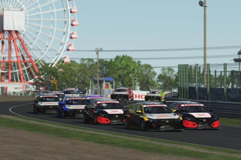 Balapan Sirkuit Vakum, Honda Gelar Kejuaraan Simulator