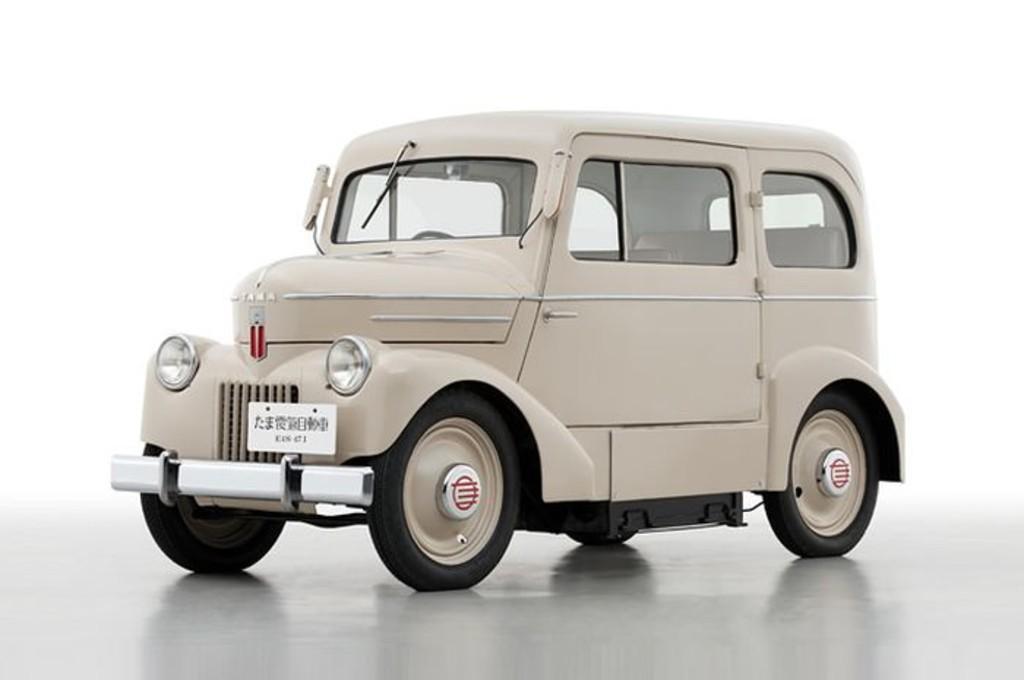 Nissan Tama, mobil listrik pertama Nissan yang dibuat pada tahun 1947. nissan global