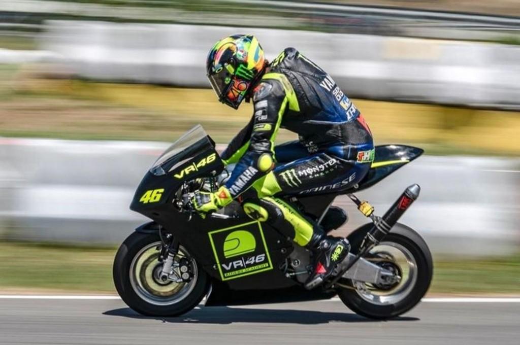 Latihan Motor Mini jadi Menu Rossi Jelang Jerez
