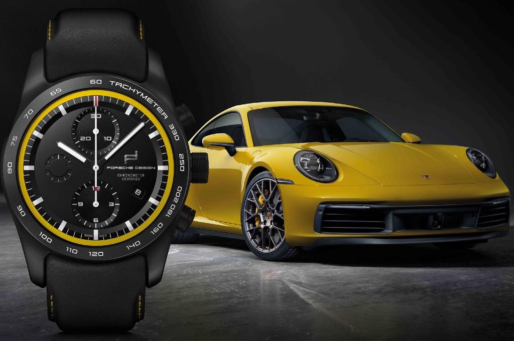 Jam tangan Porsche dirancang dengan filosofi kendaraan Porsche. porsche