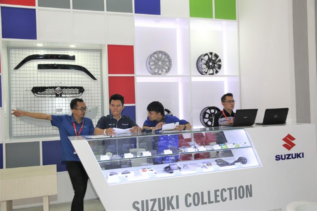 Penjualan suku cadang Suzuki mulai berangsur normal. sim
