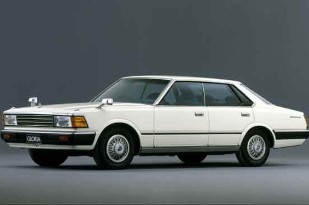 Nissan Gloria model 430, sedan Jepang pertama bermesin turbo. nissan