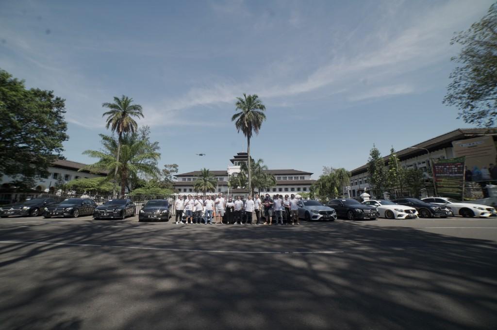Komunitas MBW213CI menggelar touring sekaligus berdonasi untuk tenaga medis RS AMC Cileunyi Bandung. mbw213ci