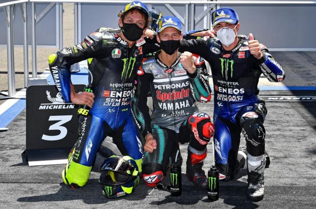 Puasa Podium Sekian Lama, Begini Luapan Kebahagiaan Rossi