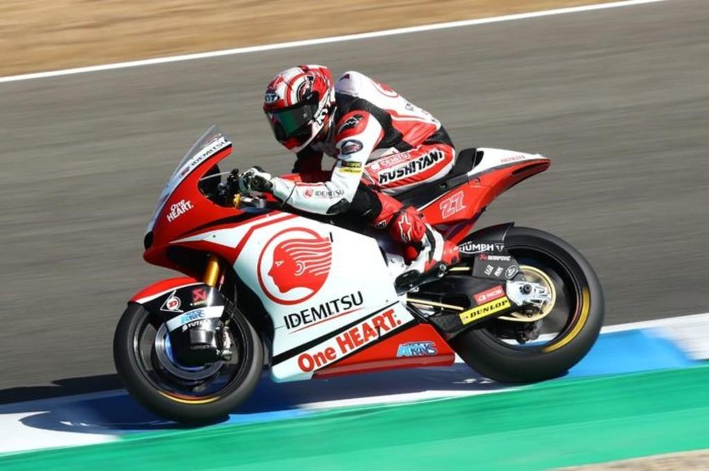 Dua kali balapan di Jerez, Andi Gilang semakin mengenal karakter sirkuit. idemitsuhondateamasia