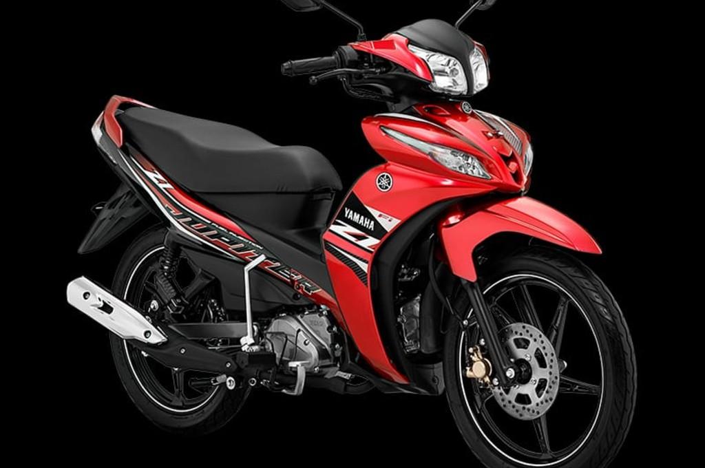 Yamaha perkenalkan Jupiter Z1 dengan warna dan striping baru. yamaha