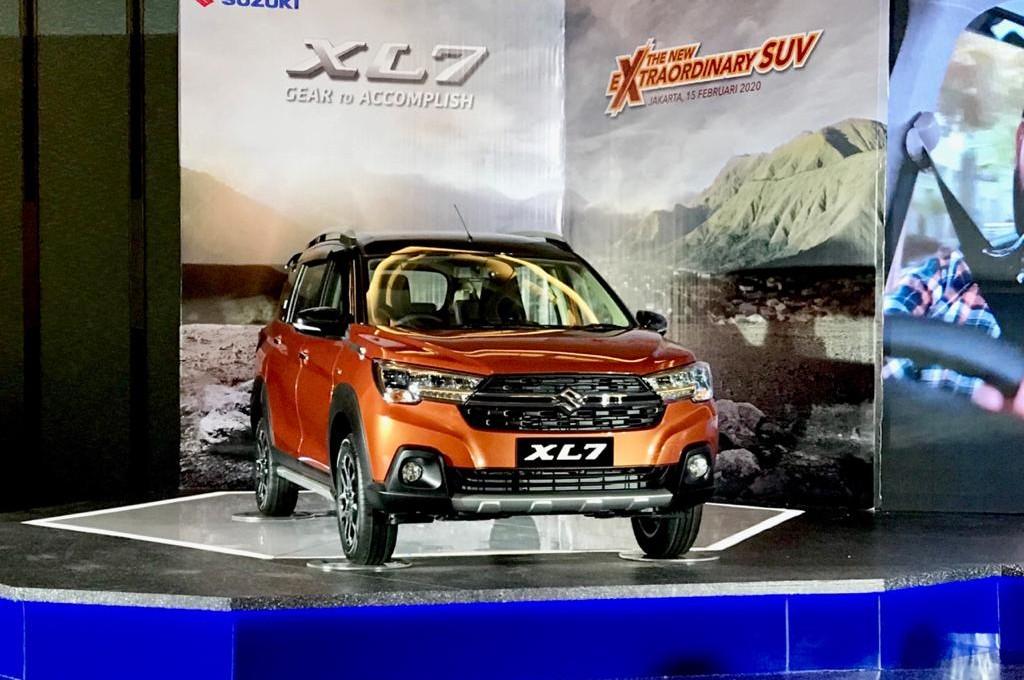 Suzuki XL7, senjata baru Suzuki di segmen SUV. dok medcom