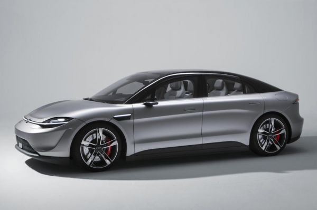 Sony perkenalkan mobil listrik Vision-S Concept. autocar