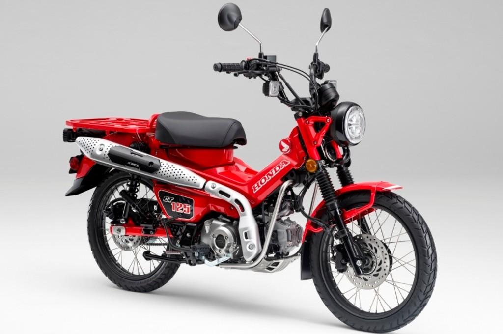 Honda CT125, motor outdoor hasil pengembangan Super Cub, dibanderol Rp75 juta. ahm
