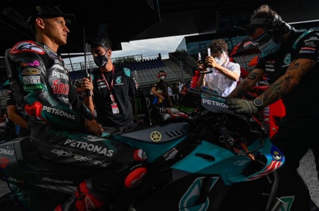 Fabio Quartararo hilang percaya diri dalam perburuan gelar juara dunia MotoGP 2020. gpone