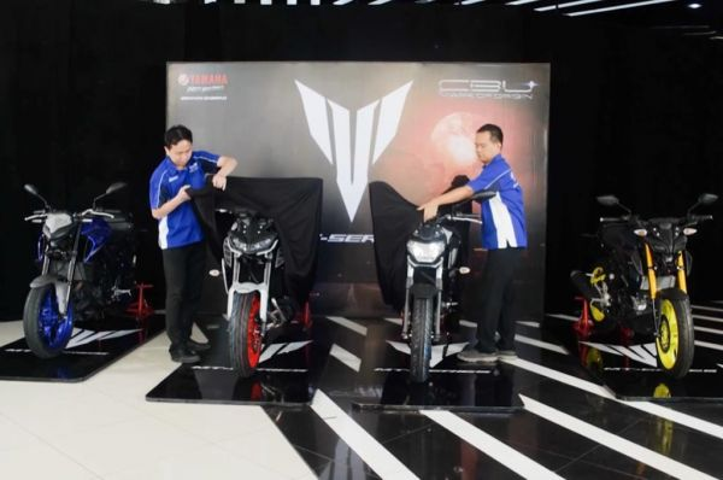 Yamaha Indonesia perkenalkan MT-07 dan MT-09 terbaru. yamaha