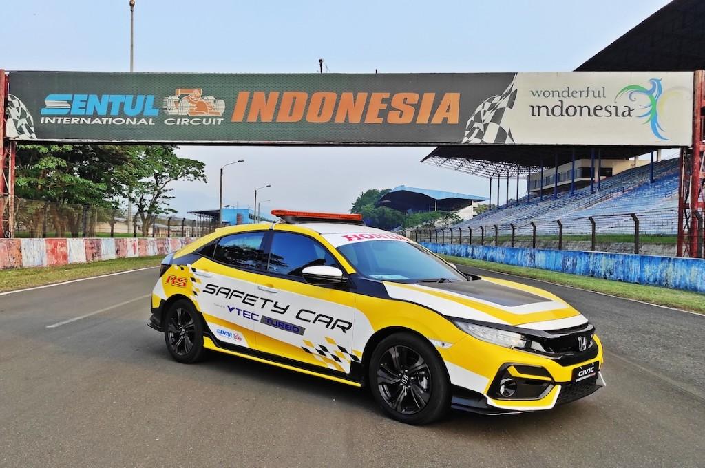 Honda Civic Hatchback RS Turbo dan Honda Civic Turbo kawal balapan ISSOM 2020. honda