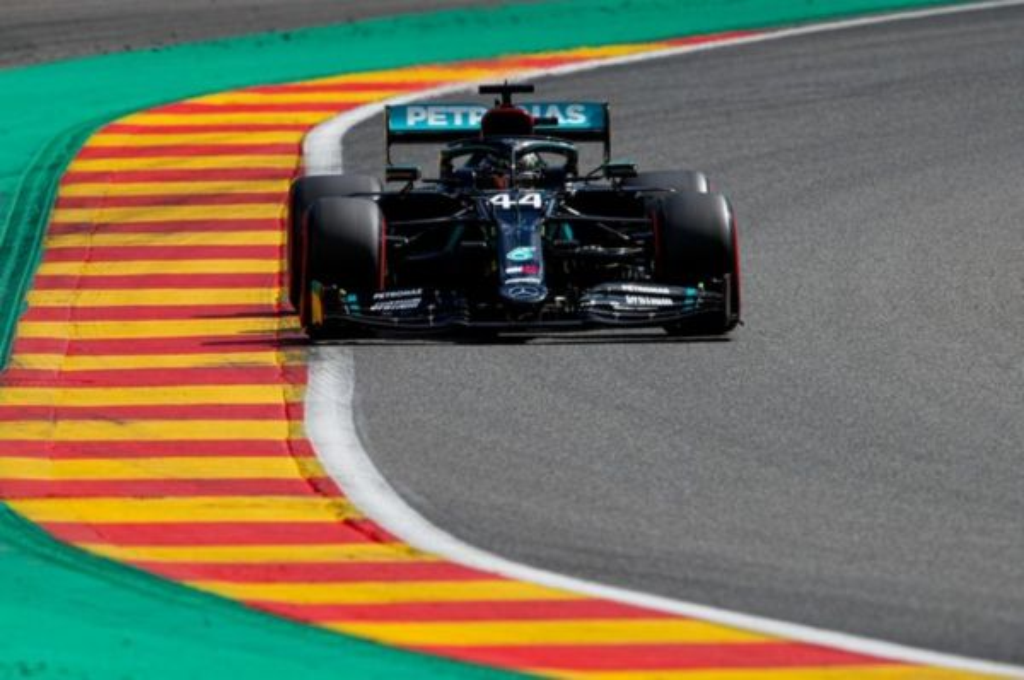 Menangi F1 Belgia, Lewis Hamilton masih terlalu perkasa. twiter/mercedesf1