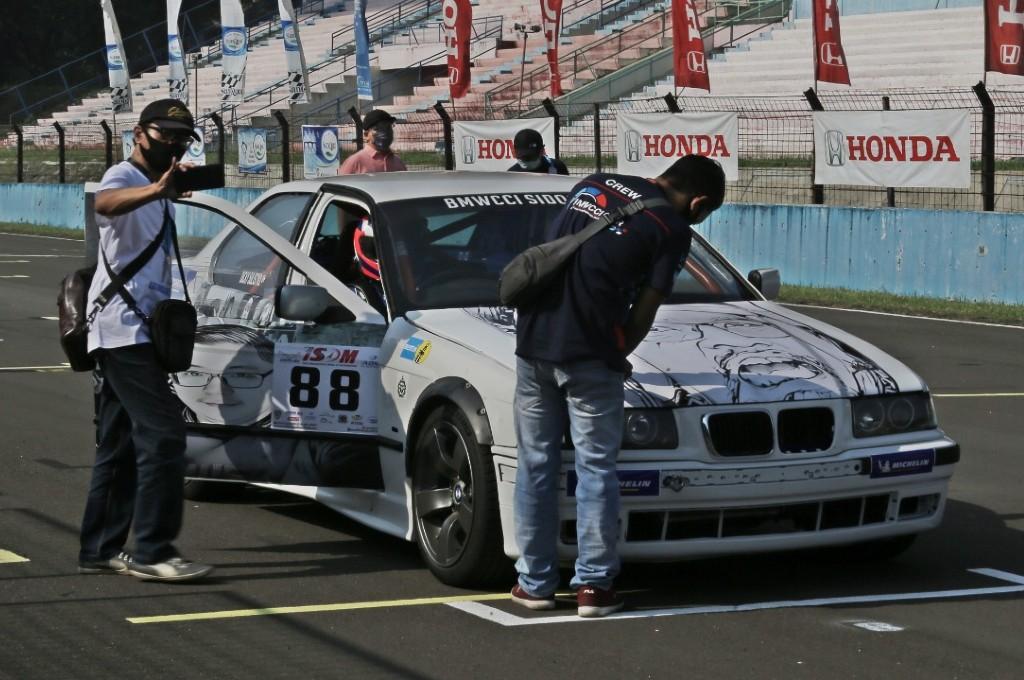 One Make Race (OMR) BMWCCI 2020 round 1 di Sirkuit Sentul. dok. bmwcci