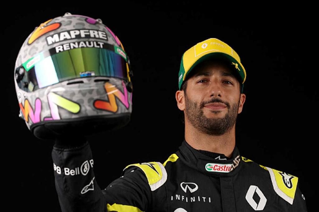 Daniel Ricciardo antusias menatap F1 Monza. ist