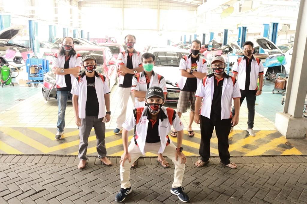 Toyota Yaris Club Indonesia (TYCI) rayakan anniversary ke-14. dok. tyci