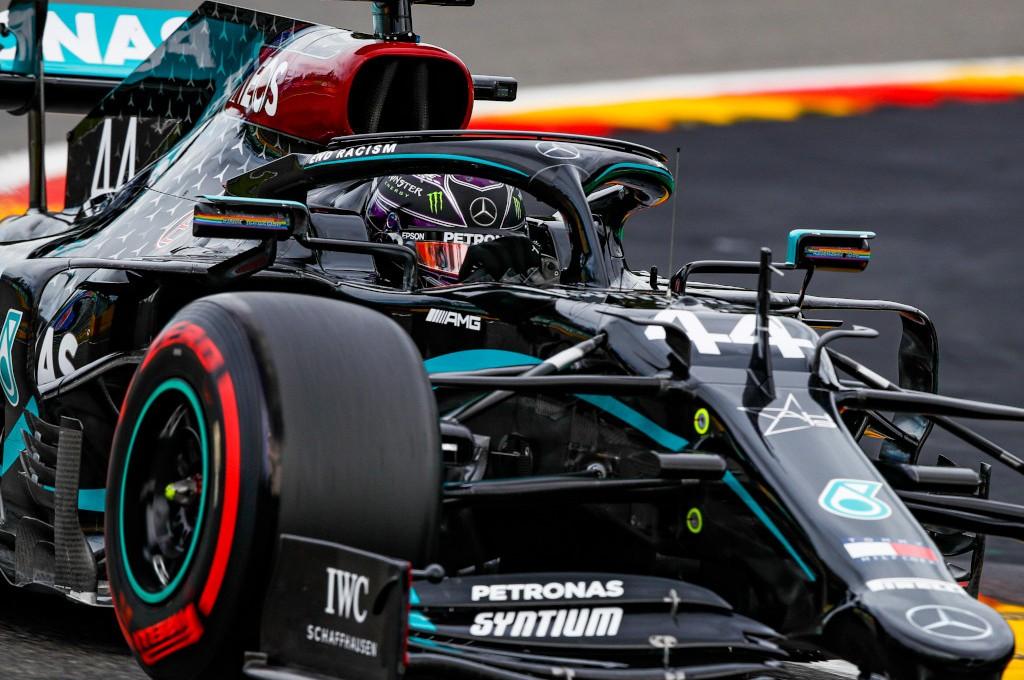 Lewis Hamilton raih kemenangan ke-89 di F1 Belgia. planetf1