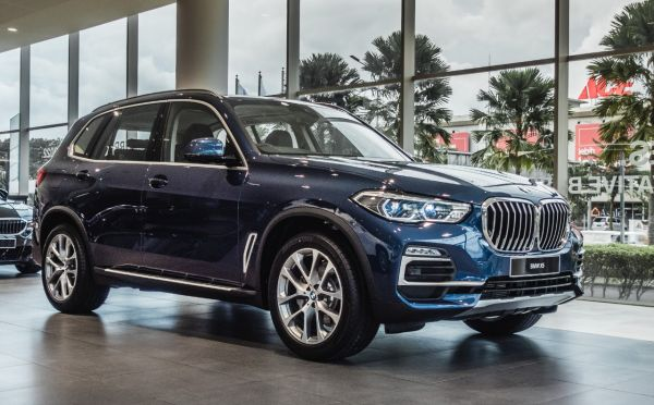 New BMW X5 xDrive40i xLine.