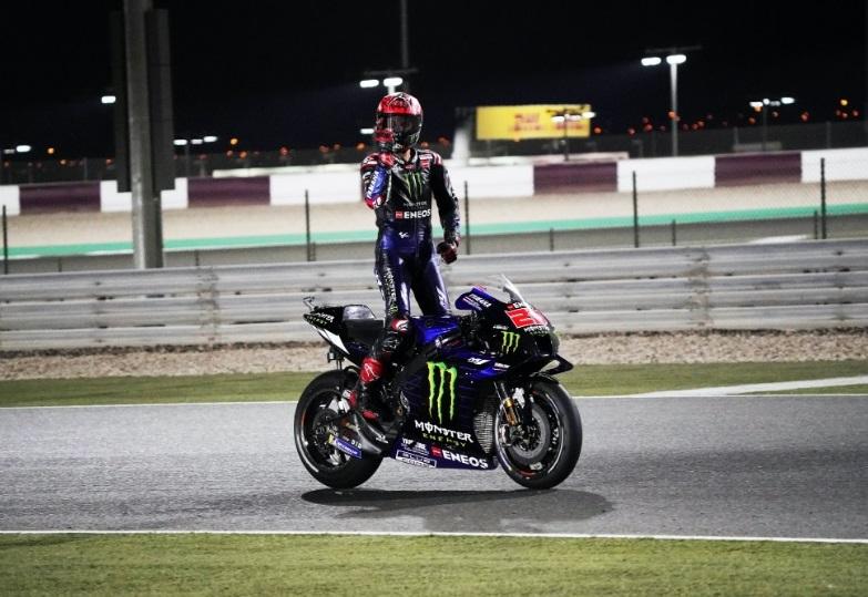 Ungguli Duo Pramac Ducati, Fabio Quartararo Berjaya di MotoGP Doha