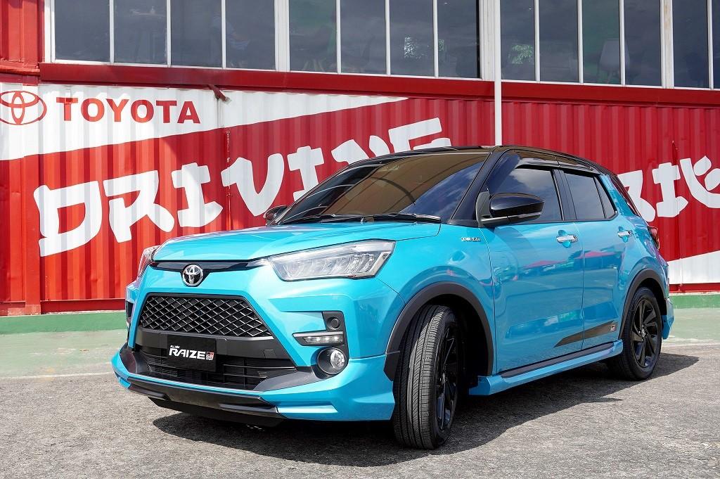 Toyota Raize Resmi Mengaspal, Intip Spek dan Harganya