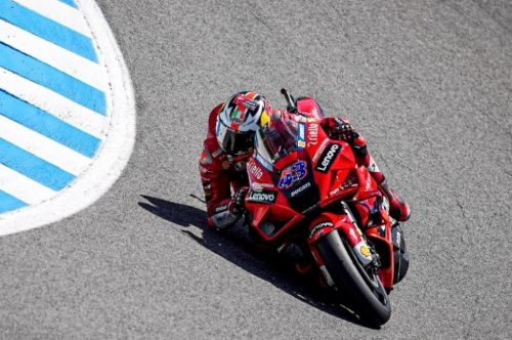 Jack Miller raih kemenangan di MotoGP Spanyol 2021. (twitter/ducaticorse)
