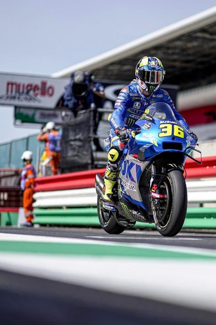 Joan Mir akhirnya persembahkan podium perdana untuk tim Suzuki Ecstar di MotoGP 2021 (Foto: Suzuki Ecstar MotoGP)