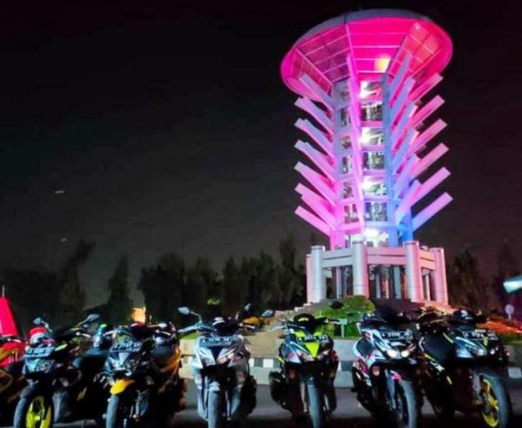 Deretan motor anggota ARCI saat anniversary ARCI Tangerang Chapter (Foto: ARCI Tangerang Chapter)