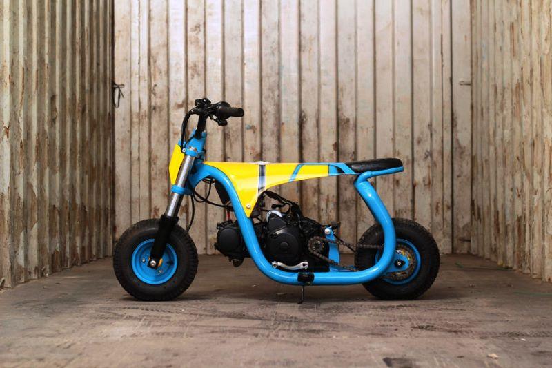 Minion Mini Bike (Foto: Tiba-Tiba Garage)
