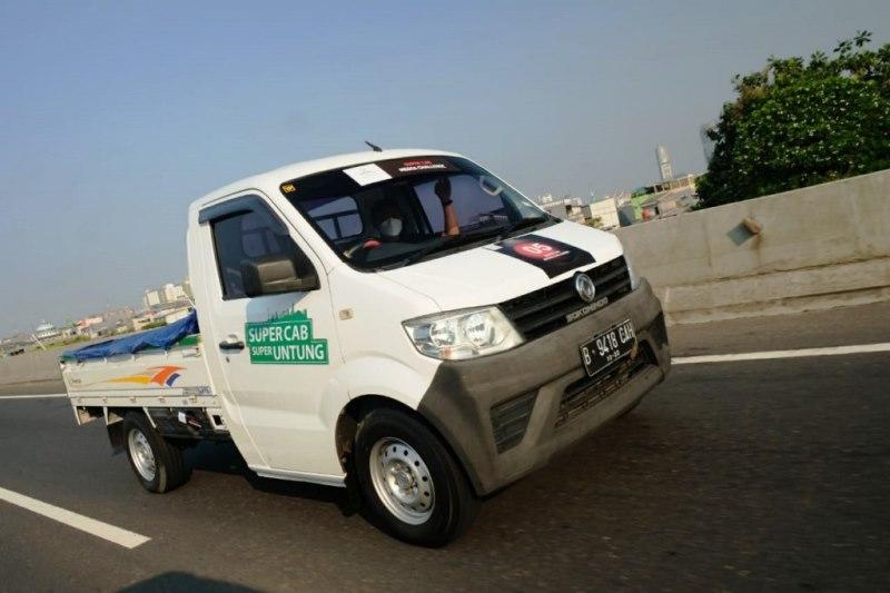 Uji irit DFSK Super Cab di Pulau Bali tembus 15,4 kilometer per liter (Foto: DFSK)