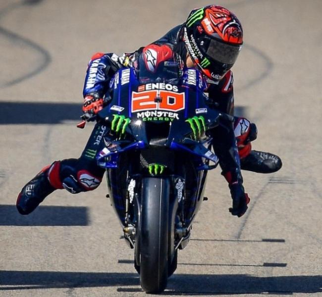Menang Seri Belanda, Quartararo Duduk di Puncak Klasemen MotoGP 2021