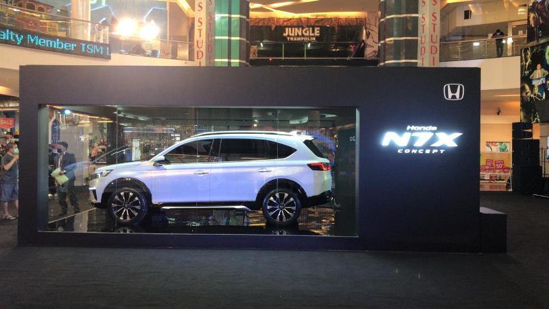 Honda N7X concept hadir di Trans Studio Makassar (Foto: HPM)