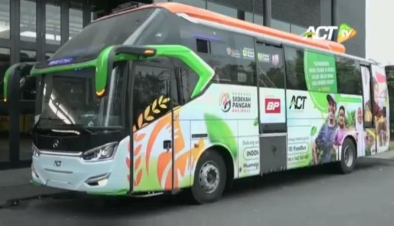 Keren! ACT dan Laksana Kerja Sama Rakit Bus Dapur Umum Kemanusiaan