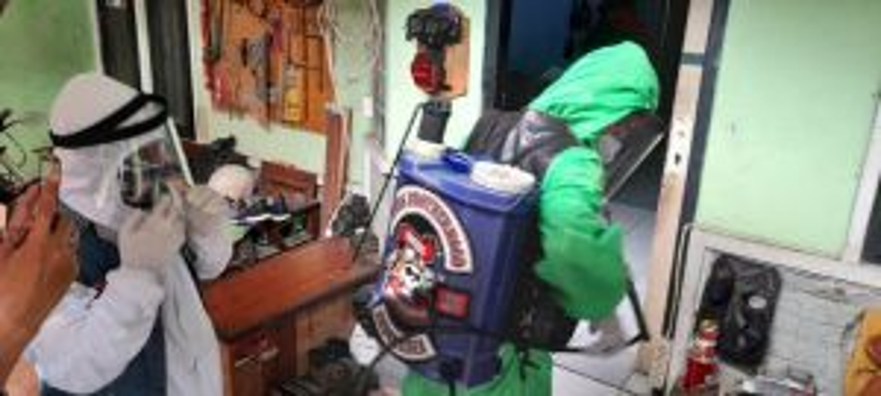 Hadapi Pandemi, Bikers Brotherhood 1% MC Tegak Berbakti Untuk Negeri